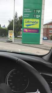 diesel cheaper than unleaded £1.14 p/l @ BP cradley heath