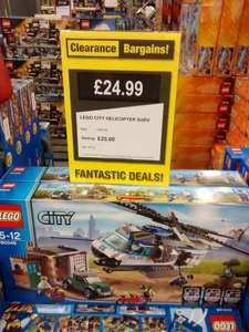LEGO City Helicopter Surveillance -  £24.99 @ Clearance Bargains (Argos) Walsall