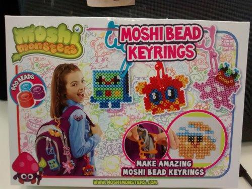 Moshi Bead Keyrings (like Hama beads) 99p Clearance Bargains (Argos) Walsall