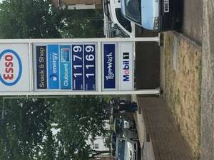 Diesel cheaper than petrol? £1.16pl @ Esso (East Finchley)