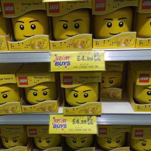 Small LEGO Storage Head £4.99 @ Home Bargains