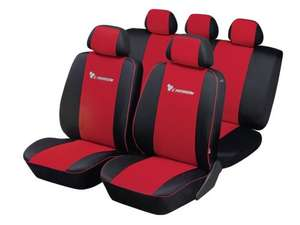 "ULTIMATE SPEED ""Carbon"" Car Seat Cover Set £13.99 at LIDL"