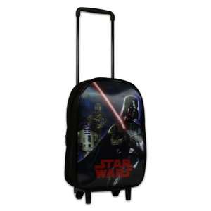 Star wars trolly bag with 3D design £2.95 & £2.95 delivery @ character