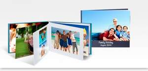 100 page A4 photo book credit £24.98 @ Photobox