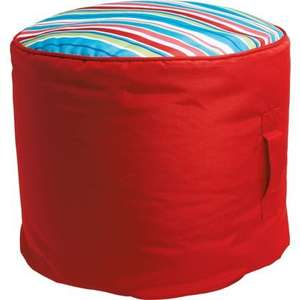 Beanbag - Raspberry £9.93 Less than Half Price @ Homebase