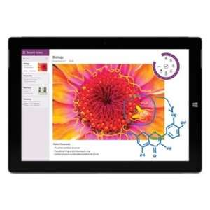 Microsoft Surface 3 64gb £377.10 using code @ Argos online and instore