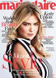12 Issue Subscription to Marie Claire £12.99 - Bespoke Offers - Save over 70% off cover price