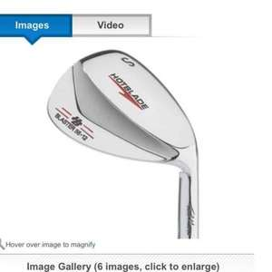 Direct Golf deal for Hotblade Tad Moore Blaster Wedge £19.99 + £2.99 delivery
