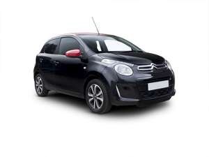 "Citroen C1 Airscape 1.2 - 5dr - bluetooth phone preparation, 7"" touchscreen, air con, DAB radio, LED daytime running lights etc. - 24 month personal lease - 8,000 miles pa - £261 deposit & £87 per month £2261.48 @ contracthireandleasing"
