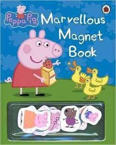 Peppa Pig: Marvellous Magnet Book £2.80  (Prime) / £5.55 (non Prime) @ Amazon