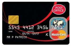 0% on Credit Card Purchases for 25 months - longest ever free fee spending card on Matched Credit Card + TCB / Quidco @ Post Office Money
