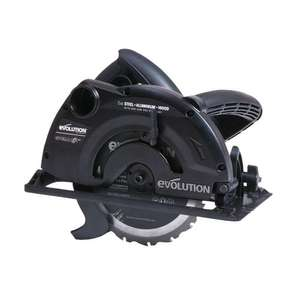 Evolution Stealth 185mm Circular Saw £27.00 @ B&Q