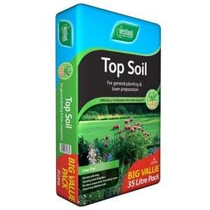 £2.99 Top Soil Big Value Pack 35L @ B&M Stores (collect instore)