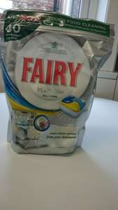 bargain!  Fairy Platinum dishwasher tablets 8p each! £3.25 at asda Gateshead, LOOKS NATIONAL!