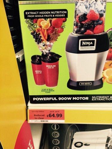 nutri ninja £64.99 @ Sainsbury's in store
