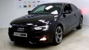 AUDI A5 COUPE Black Edition Plus 2.0 TDI 177 - 2yr LEASE - 6m + 23@198.46 - £5755 over total term @ GB vehicle leasing