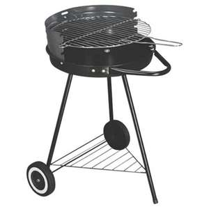 Tesco Round Charcoal Grill BBQ 40x40 £3.75 from15