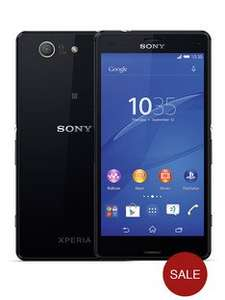 New Sony Xperia Z3 compact Phone (Unlocked) £269 at Very (£30 disc for new customers)