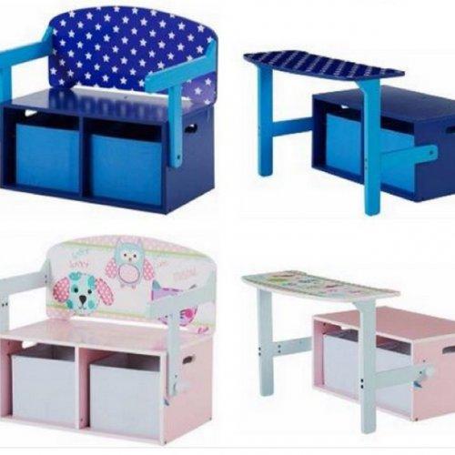 Chad Valley convertible desk/chair storage £17.99 @ Argos