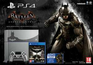 PS4 Console Silver & Batman Arkham Knight Bundle {PS4} £291.63/£288.16* (*Possible with Code 'JULY5') Delivered @ HMV Ireland