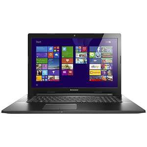 "Lenovo 17.3"" Z70 Laptop, Intel Core i7, 16GB RAM, Nvidia 840M, 1TB, 2YR Warranty, Black (£549.95 after cashback)  £649.95 @ John Lewis"