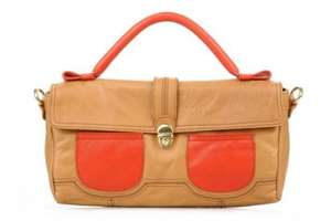Women's Georgia Rose Etoile leather handbag with extra 20% off today and free delivery  £26.32 @ sareza