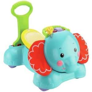 Fisher-Price 3-in-1 Bounce, Stride and Ride Elephant now £29.99 @ argos