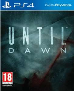 {PS4} Until Dawn £31.99 [After Two Codes - See Below] @ Xtra-Vision