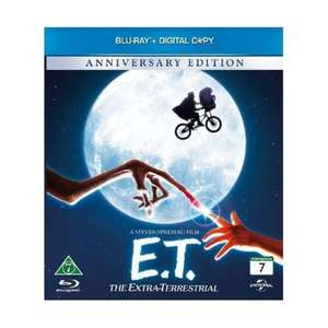 E.T. The Extra-Terrestrial - Anniversary Edition (Blu Ray) £4.95 Delivered @ TheGameBooth Via eBay