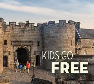 Free kids entry to various attractions (eg Edinburgh Zoo) with paying adult with valid Scotrail ticket