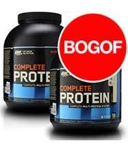 Optimum Nutrition Complete Protein - Buy One Get One Free +25%OFF £36 @ discount supplements