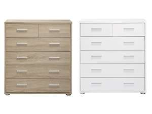 LIVARNO Chest of 6 Drawers £39.99 at LIDL