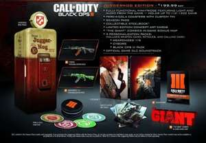 Call Of Duty Black Ops III Juggernog Edition Xbox One PS4 £136.99 @ 365games