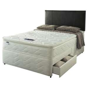 Silent night king size divan bed with drawer @ tesco direct £446.95 delivered reduced from £1099