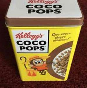 kellogs coco pops with free tin £2.68 @ Iceland