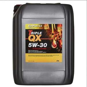 20 litre of Engine Oil - Fully Synthetic 5w30 - TRIPLE QX £45.89 @ Eurocarparts