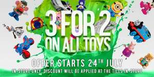 3 for 2 toys starts Friday 24th July at argos (confirmed)
