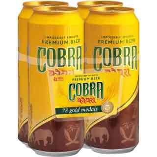 Cobra beer 24 x 500ml £19.18 @ Costco, under 80p per can!