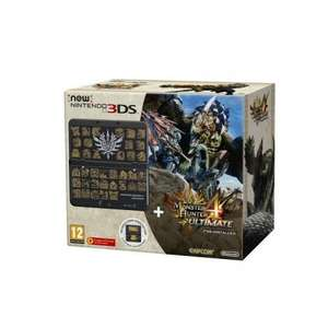New Nintendo 3DS Black w/ Monster Hunter 4 Ultimate bundle £131.39 (w/ code MSE10) @ Pixel Electronics/Rakuten