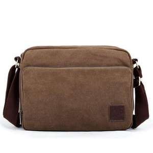 Eshow Men's Cross Body Satchel Bag - PLUS another bag free. 8 choices. See first post for options. £18.36 @ Amazon
