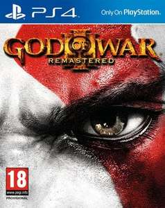 God of War 3 Remastered (PS4)(NEW) RAKUTEN/THE GAMECOLLECTION £23.35 with code