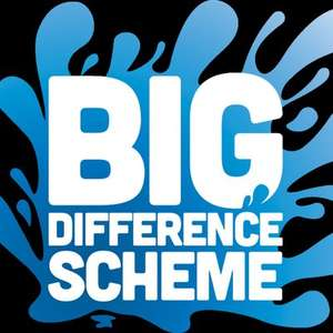 Severn Trent Big Difference Scheme. £3.74 a month / 12 mths for qualifying customer