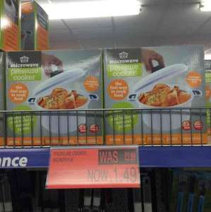 microwave pressure cooker £1.49 in store B&M