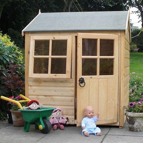 Children's wooden playhouse 4x4 £156.00 @ Worldstores