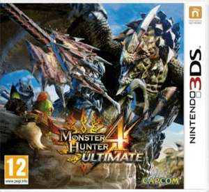 Monster Hunter 4 Ultimate 3DS GAME £15.00 with code