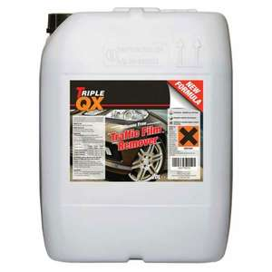 Triple QX Professional 20ltr Traffic Film Remover (like Car Shampoo) £18.99 C&C with code @ Euro Car Parts