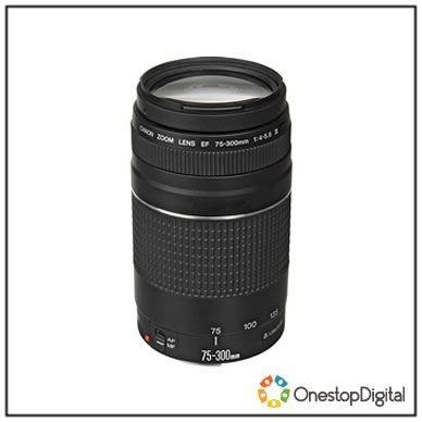 Canon 75-300mm f/4.5-5.6 III Lens - £75.11 Delivered @ Onestopdigital