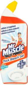 Mr Muscle Toilet Power Thick Bleach Gel (750ml) ONLY £1.00 @ Poundland