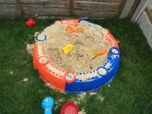 Sand pit with acceories £4.99 at b&m bargains