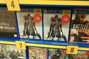 Bloodborne PS4 (Pre-owned) £30 IN-STORE at Game (listed still as £37.99 on site)